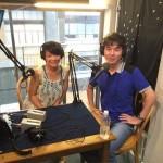 FM79.7MHz ことぶらラジオチャンネル放送♪今回は初めて収録での放送でした。