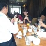 大魔神に睨まれながらのランチ会。京都ランチの会を開催しました!