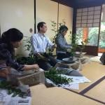 非公開寺院で学ぶ初めての華道!華道体験教室開催しました!