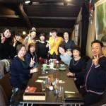 今年最初の京都ランチの会。開催(したようです)。