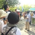 沢山の人で賑わう金閣寺・龍安寺のガイドツアー開催!