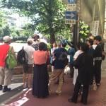 祇園祭ガイドツアー開催!午前と午後のダブルヘッダー!最高気温は何と!