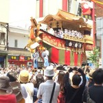祇園祭後祭の山鉾巡行を見学!今日はプライベートです!