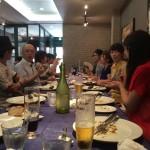 京都ランチの会を開催しました!今月はフレンチレストランでした!