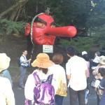 午前は貴船神社、午後は鞍馬寺のダブルヘッダー!笑い多きガイドツアー開催!