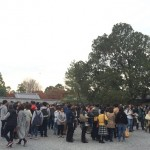 東福寺紅葉ガイドツアー開催!まるで初詣の様な人出!