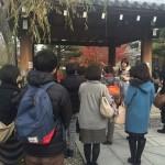 二カ月前に満員になった政田マリさんによる三十三間堂ツアー開催!