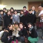 年内最後の京都ランチの会開催!昨日で丸二年経ちました!