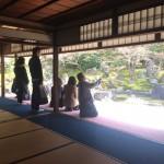 長谷川等伯ツアー開催!東山区の圓徳院(えんとくいん)と智積院(ちしゃくいん)ガイドツアー開催しました!