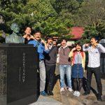 ヒゲの偉人の史跡を巡るツアー開催!伏見区の桃山近辺を巡りました!