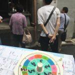 京都の碁盤の目を練り歩くルーレットツアー開催!今月はゴール出来たのか?