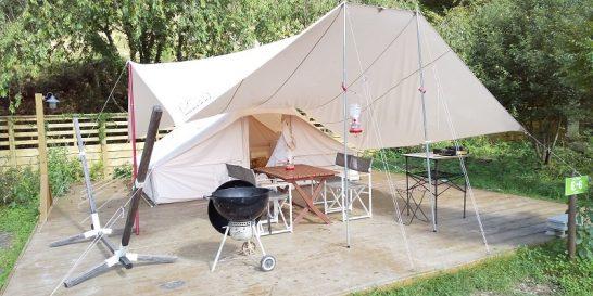テントとタープ